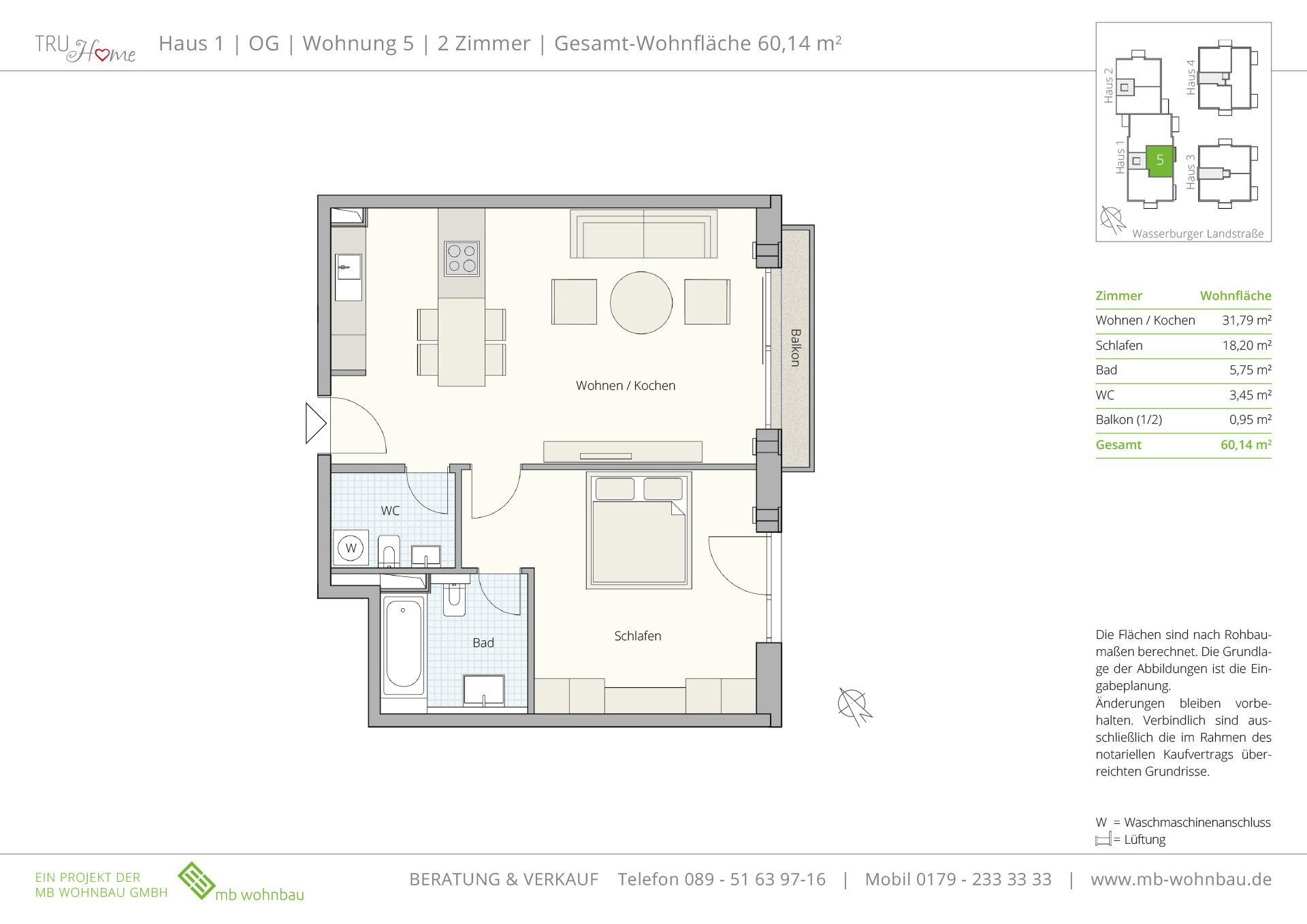 eigentumswohnungen trudering mb wohnbau m nchen. Black Bedroom Furniture Sets. Home Design Ideas